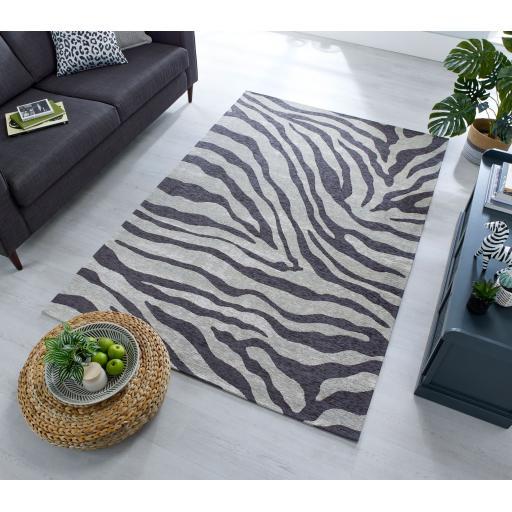 Manhattan Wilder Leopard, Zebra Pattern Rug
