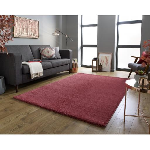 Sleek Trendy Colours Soft Shaggy Rugs Runners