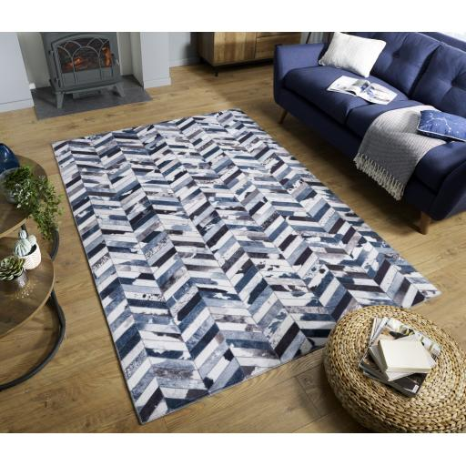 Dakota Faux Hide Jesse Country Wild Soft Touch Flat Rug