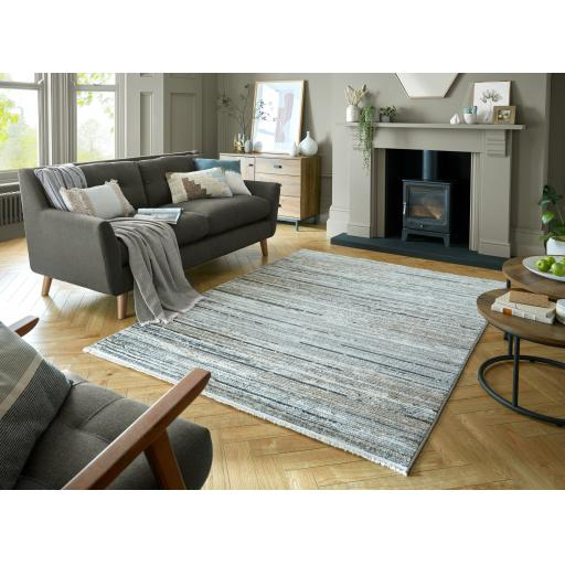 Santiago Lagos Abstract Fashion Hand-Knotted Style Soft Rug