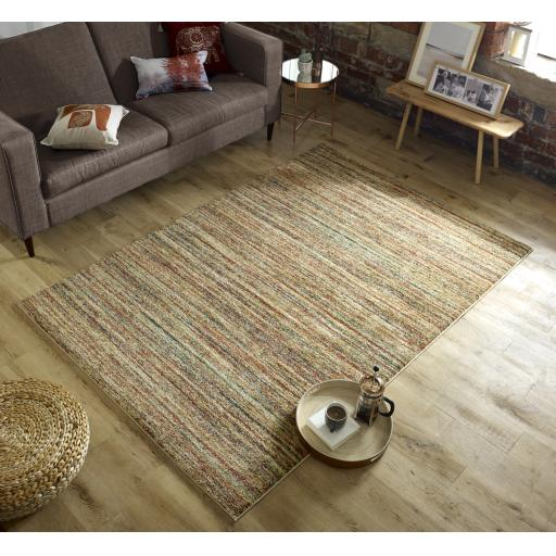 Nova Liza Abstract Multi Rug Runner