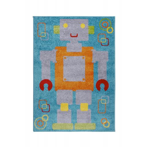 Kids Play Days Robot Rugs