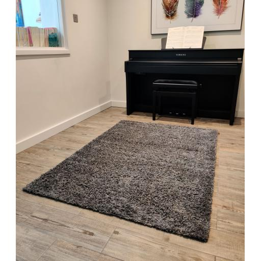 Modern Dyno Shaggy Soft Trendy Colours Rugs Runners