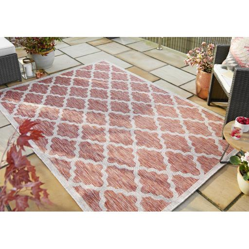 Florence Alfresco Padua Outdoor Indoor Flatweave Rugs Runners Rounds