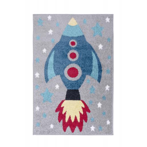 Kids Play Days Rocket Rugs