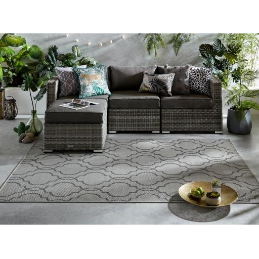 Florence Alfresco Milan Outdoor & Indoor Flatweave Rugs Runners