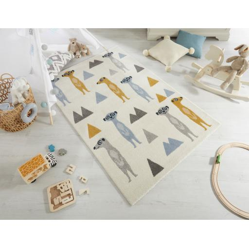 Cadiz Kids Meerkats Children Rugs