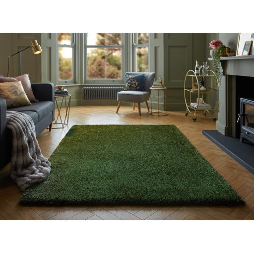 Veloce Long Pile Quality Thick Sparkle Shiny Shimmer Soft Shaggy Rug