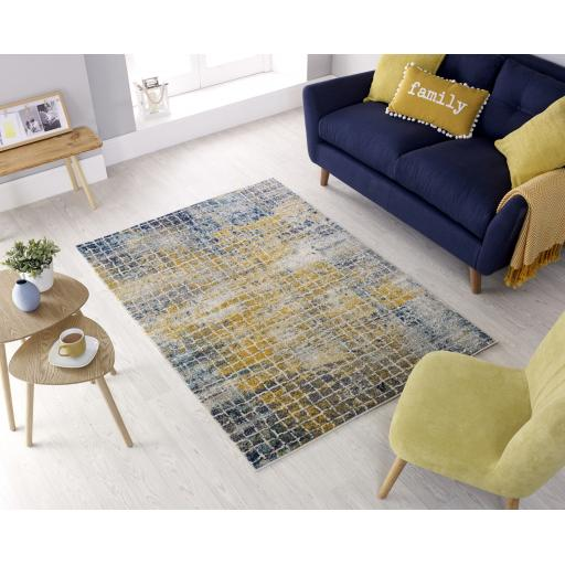 Urban Abstract Contemporary Design Multi Rug Runners