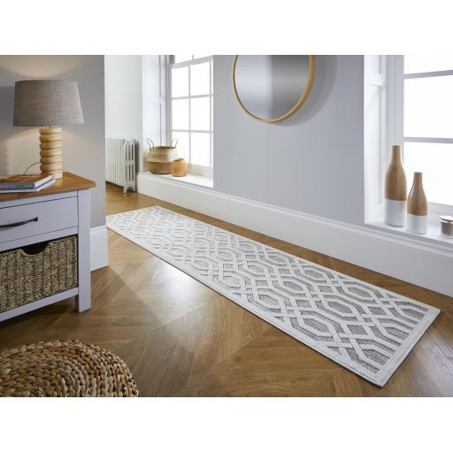 Piatto Mondo Natural Outdoor Indoor Hallway Runner Rug