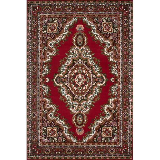 Sahara Traditional Oriental Rug in Red 120 x 170 cm (4'x5'6'')